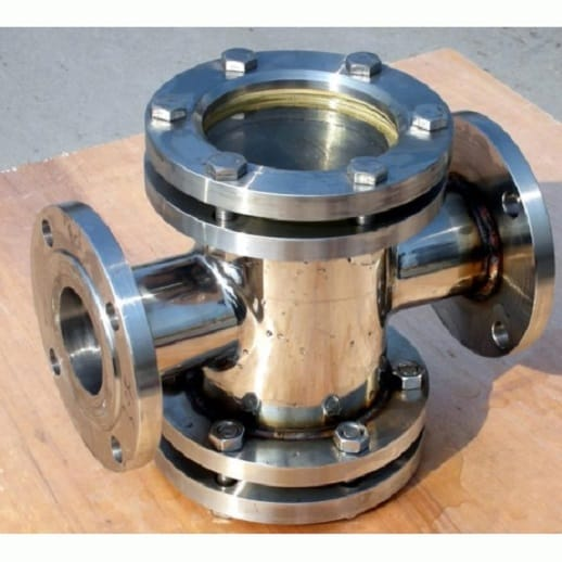 flanged sight glass