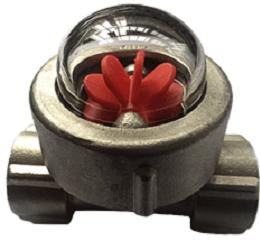 Turbine sight glass