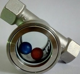 float ball sight glass-2